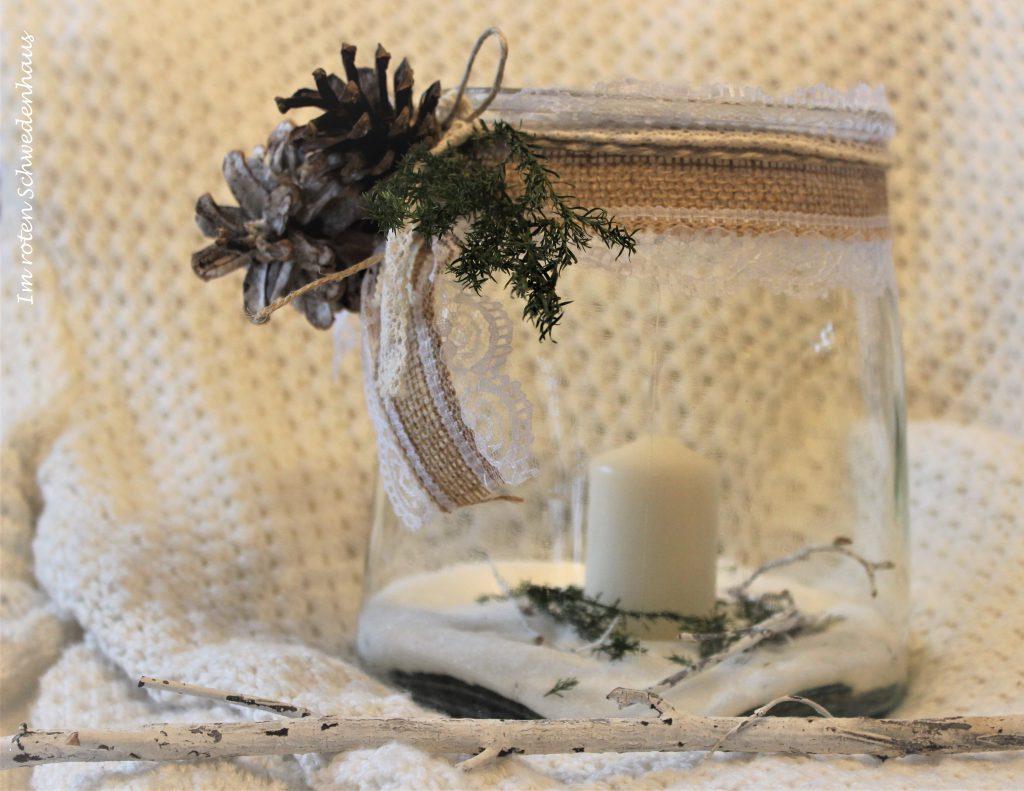 Winterwindlicht hüsch dekoriert