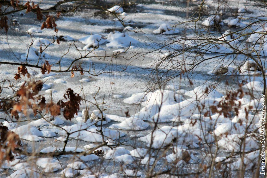 Landschaft im Schnee